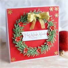 Kartka świąteczna (proj. Z Papieru Tworzone)