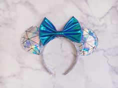 Holographic geometric Ears – Hannah Marie Magic Mickey Ears, Holographic, Bows, Magic, Disney, Accessories, Design, Arches, Bowties