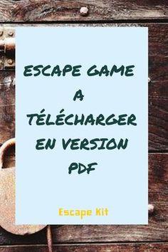 Geschenk - Escape game à télécharger en version PDF pour l'installer chez vous.