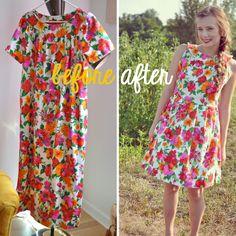 beetlebailey: Thrifted dress makeover #fashion