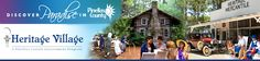 Free things to do in Tampa Bay- Heritage Village, Pinellas County's 21-acre living history museum
