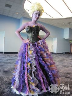 Ursula The Little Mermaid costume at D23