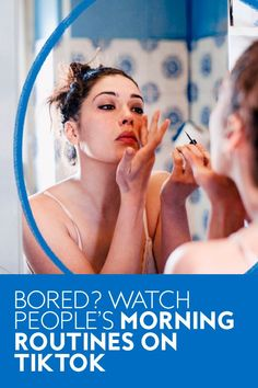 Watching someone else's skincare, coffee, and breakfast situation should be mundane as hell, but the 2.3 billion views of the #morningroutine hashtag say otherwise. #selfcare #selfcaregifts #wellness #beauty #wellnessgifts How Many People, People Like, Other People, How To Make Smoothies, People Videos, Winter Beauty, I Cant, Routine, Skincare