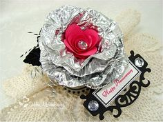 JustRite Entry #13 Debbie Marcinkiewicz - Disposable Muffin Tin to create flower.