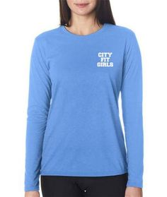 City Fit Girls Long-Sleeve Performance Shirt #activewear #motivation