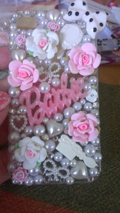 Pink and White Barbie iphone 4/4s case by DazzlingCases on Etsy, $13.99