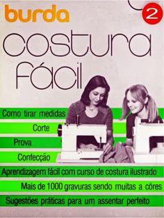 """Moldes Moda por Medida: LIVRO - 4 """"COSTURA FÁCIL"""""""