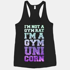 Are you a mystical creature that can never be caught frolicking around your local gym? love this!
