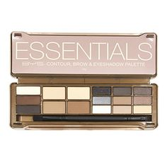 BYS Essentials Contour Brow and Eyeshadow Palette Tin Collection with Mirror and Dual End Applicator *** See this great product. (This is an affiliate link) Eyeshadow Base, Eyeshadow Palette, Eyeshadows, Bys, Makeup Kit, Wedding Makeup, Makeup Cosmetics, Contour, Hair Care