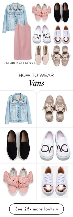 """""""Sneakers and dresses """" by monydepaix on Polyvore featuring Chloé, UGG, Joshua's and Vans"""