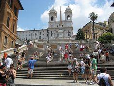 The Spanish Steps, via Flickr.