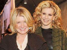 Martha Stewart and daughter Alexis
