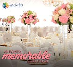 Vuélvelo memorable, llévalo al MIC.  http://bodas.mazatlaninternationalcenter.com/  #VisitMazatlan #Mazatlán #MICMejorImposible #Eventos
