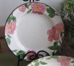 Franciscan Desert Rose Dinner Plates England by LazyYVintage & Franciscan Desert Rose Dinner Plates Vintage Dinnerware and ...