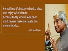 APJ Abdul Kalam's wise words
