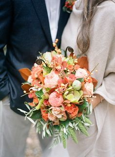 Wedding Wednesday :: Autumn Wedding Flowers