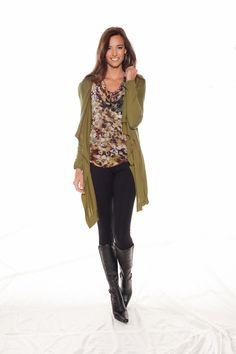 Fall 2013. Women's Fashion. Stella Carakasi. Over Everything Cardigan. Rendezvous Top.www.stellacarakasi.com