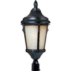 Energy Star Espresso Odessa One Light Outdoor Post Mount Maxim Lighting International Post  9 X 20 123.00