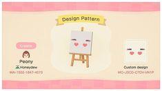 Custom Designs - Animal Crossing: New Horizons Animal Crossing Pattern, Animal Crossing Game, Face Painting Designs, Paint Designs, Nintendo Switch, Eyebrow Design, Motif Acnl, Pastel Designs, Animal Crossing Qr Codes Clothes