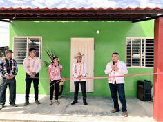 Celebra municipio de Asunción Ixtaltepec inauguración de viviendas.