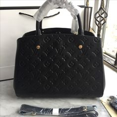Louis Vuitton lv woman tote bag Montaigne monogram leather AAAA