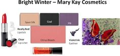 Mary Kay Colors for Bright Winter #3 via Your Natural Design