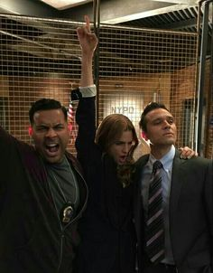 """""""Jon: Best detective squad in the country! Stana: In the universe! Stana: For all! Castle 2009, Castle Abc, Castle Series, Castle Tv Shows, Castle Season 8, Seamus Dever, Detective, Richard Castle, Castle Beckett"""