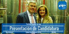 La ministra de Empleo, el sábado, en la presentación del candidato a la alcaldía de Jaén