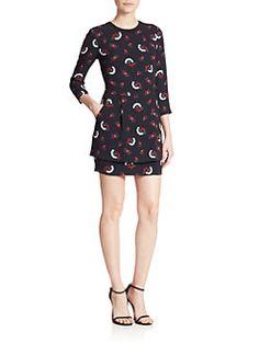 A.L.C. - Tordi Printed Silk Dress