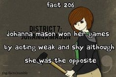 hunger games facts - duh - everyone who has read the books/watched the movie knows this lolz