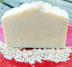 Homemade Oatmeal, Milk and Honey Soap