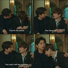 Your super cool samchun is always there. Gong Yoo, Lee Dong Wook, Goblin The Lonely And Great God, Goblin Korean Drama, Princess Hours, Goblin Kdrama, K Drama, Moorim School, Drama Funny