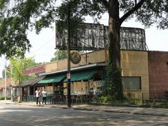 2012 Great Places in America: Neighborhoods - Cooper-Young, Memphis, Tennessee. As businesses started fleeing downtown for the malls, Cooper-Young's commercial corridor had high vacancy rates, but the neighborhood's historic architecture, affordable housing, and safety started attracting tenants and residents, turning it into one of the most popular areas in Memphis. Photo courtesy Josh Whitehead.
