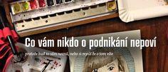 Co vám o kreativním podnikání neřekli #VaseJmenoJeVaseZnacka #Podcast #Návody #Česky
