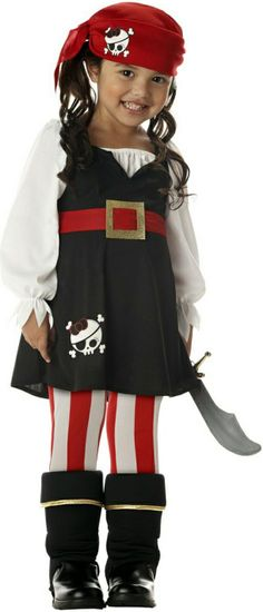 Precious Little Pirate Baby Costume