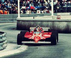 Gilles Villeneuve Winner, Monaco Grand Prix 1981