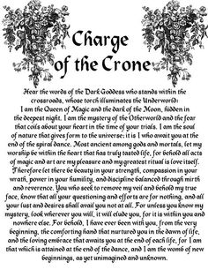 Charge of the Crone