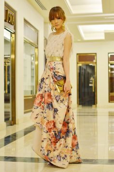 wow statement dress