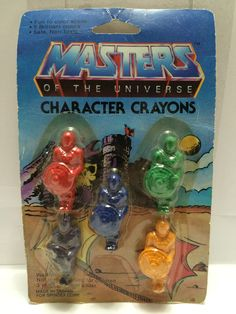 (TAS013407) - MOTU - Masters of the Universe Character Crayons