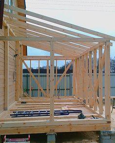 Как построить террасу своими руками | Своя изба