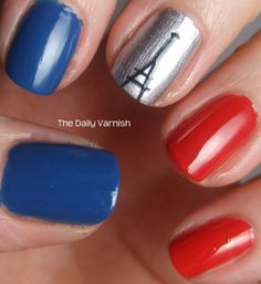 Nailvengers assemble new years nail art for tesco one nail to french nails prinsesfo Choice Image