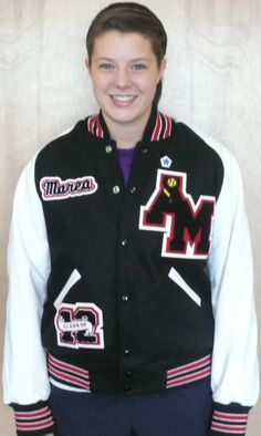 The Best Letter Jacket ever!   www.nationalachiever.com  #AMHS  #letter Jacket #achiever #proud #Varsity #letter