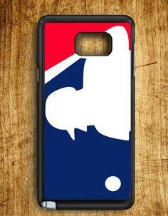 Major League Baseball Mlb Logos Samsung Galaxy Note 5 Case