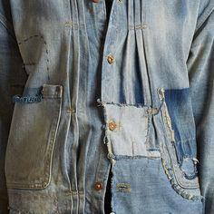 kellystanton: This Triple pleat denim jacket is based on Levis oldest and earliest jacket styles from 1872! @levis