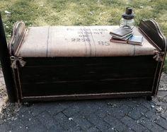 Farmhouse Rustic Solid Cedar Wood Chest by Antique2Chic on Etsy