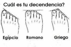 ¿Sabías Qué? es posible averiguar tu ascendencia por la forma de tus pies? - alsalirdelcole