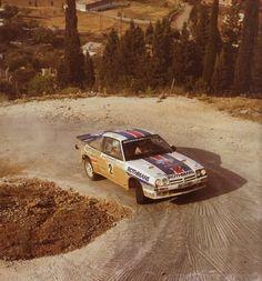 ra Ari Vatanen - Terry Harryman-30º Rally Acrópolis 1983. Opel Manta 400. Clasificado 4º.