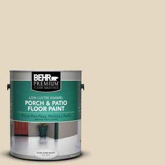 BEHR Premium 1 Gal Pfc 16 Wool Coat Low Lustre Porch And Patio Floor Paint