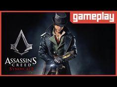 [GAMEPLAY] Assassins Creed: Syndicate - Conhecendo o Game com o personag...