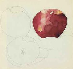 Demuth - Still life Apples process Charles Demuth, Paul Cezanne, Watercolour Painting, Watercolors, Night Life, Still Life, Fine Art, Apples, Google Search